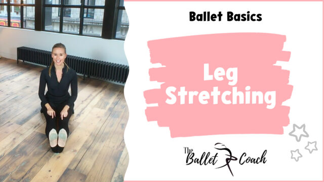 Ballet Basics Leg stretching