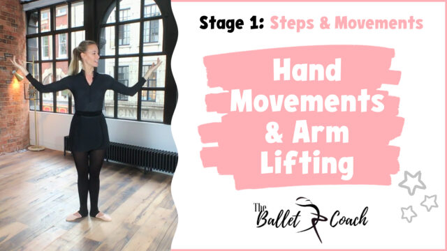 Stage 1 Hand movements & and Arm Lifting