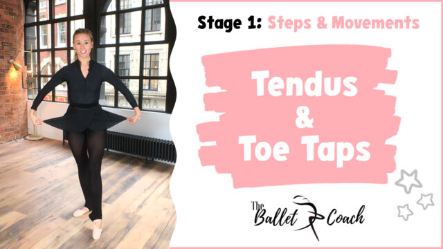 Stage 1 Tendus and Toe Taps