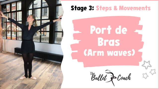 Stage 3 Port de Bras (Arm waves)