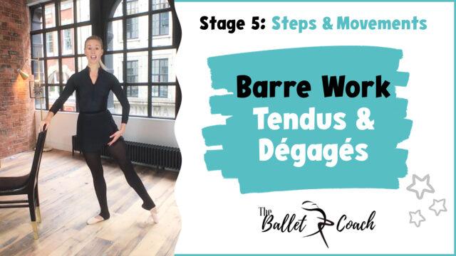 Stage 5 Barre Work (Tendus & Dégagés)