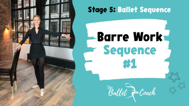 Barre Work Sequence 1 (Tendus & Grand Battments)